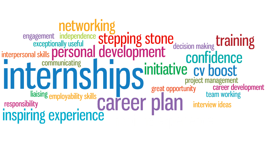 Internships graphic