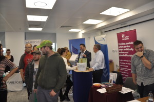 One of the exhibitor rooms (Photo by Southampton Solent University)